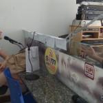 Rádio Sim Tupi 1590 AM, locutor Alcy Rodrigues, Cachoeiro de Itapemirim, 16/2/16