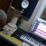 Estúdio RHM, com o compositor Arnoldo Silva, Cachoeiro de Itapemirim, 17 e 19/2/16
