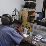 Rádio Sim Tupi 1590 AM, locutores Arnoldo Silva, Zezé Tannure e Dailton Dessaune, Cachoeiro de Itapemirim, 19/2/16