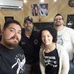 05/08/2018 - gravação de bateria, percussão e baixo (Thiago Rudrea)